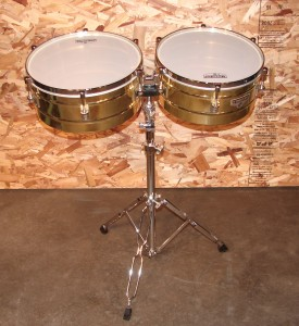 "L700 - Timbales Matador LP 14"" and 15"" (one set w/stand)"