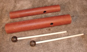 SME113 - Wah Wah Tubes Medium and Large w/Mallet