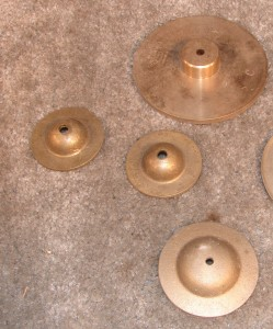 AC381 - Finger Cymbals / Crotale 'c'